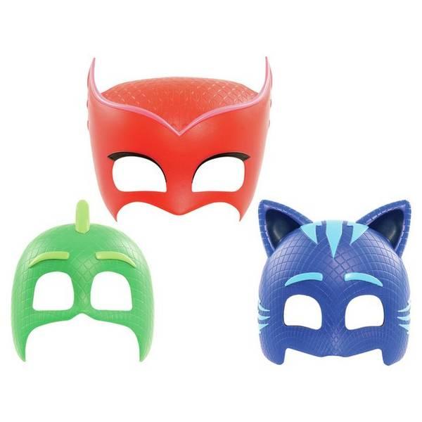 Bilde av PJ Masks, 6 stk Masker og 6 Klistremerke ark