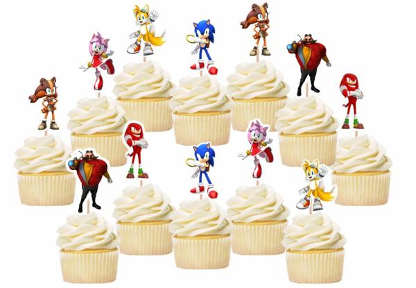 Bilde av Sonic, Toppers 3, 8 stk