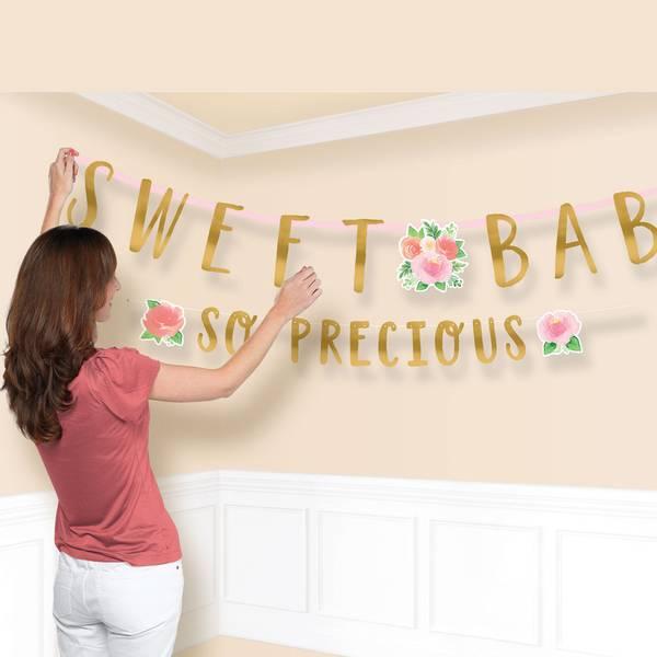 Bilde av Sweet Baby Girl Mega Banner