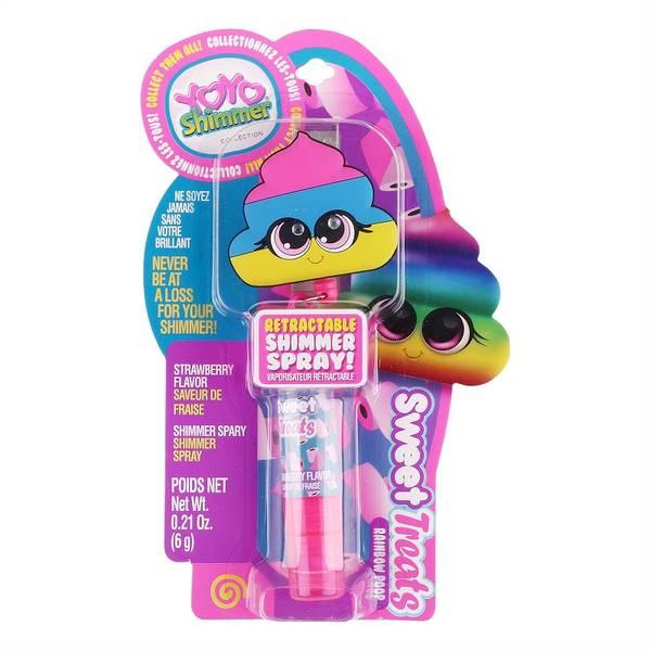 Bilde av Fidgettoy Yoyo World –Rainbow Poo Shimmer Spray