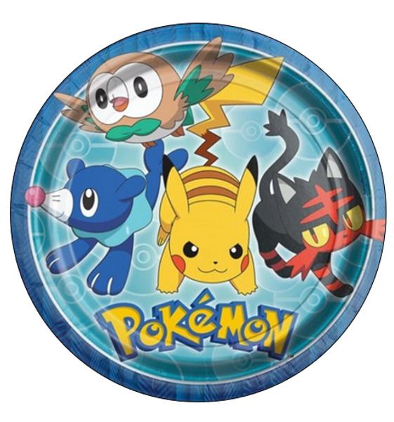 Bilde av Pokemon, Kakebilde 2, Sukkerpapir, 20 cm