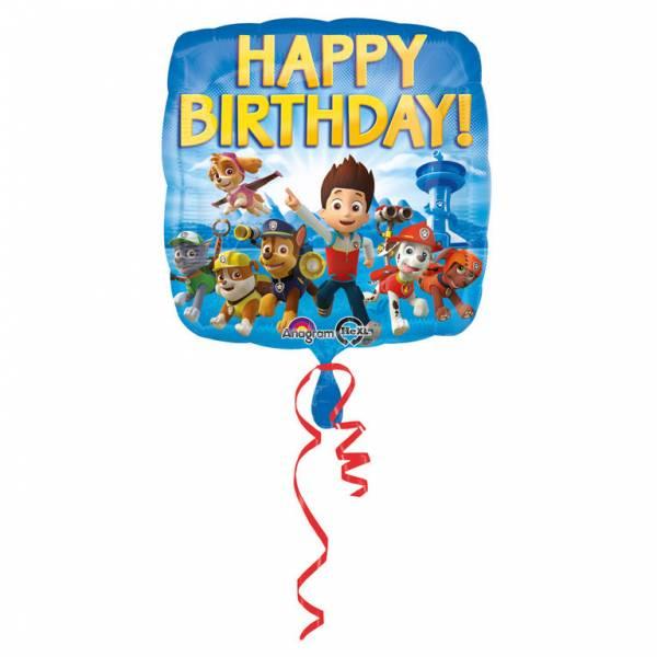 Bilde av Paw Patrol Folieballong, Happy Birthday