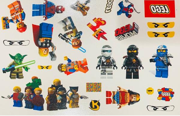 Bilde av Lego Tattoveringer