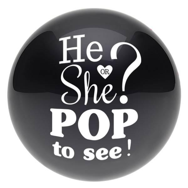 Bilde av Pop To See! Gender Reveal, Konfettiballong