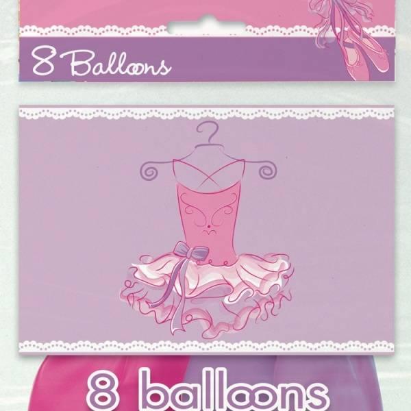Bilde av Ballerina Ballonger 8 stk