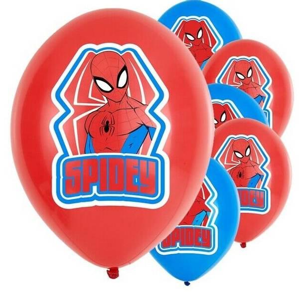 Bilde av Spiderman Ballonger 2, 6stk