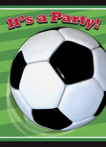 Bilde av Fotball Invitasjoner, 8stk