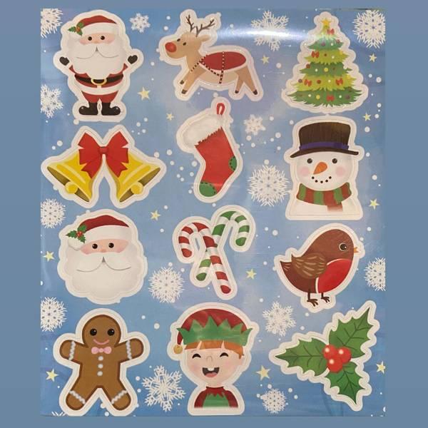 Bilde av Juleklistremerker