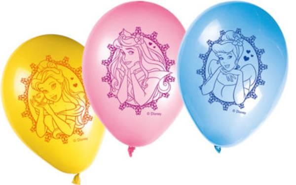 Bilde av Disney Prinsesse, Ballonger 8 stk