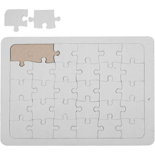 Bilde av Design Ditt Eget Puslespill Rektangel