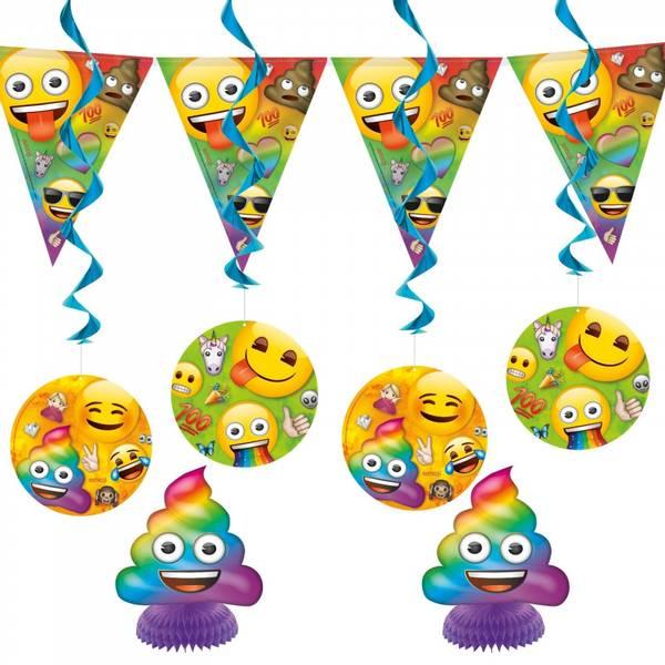 Bilde av Emoji Dekorasjonssett, 7 deler