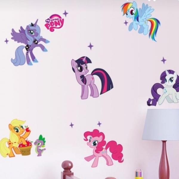 Bilde av My little Pony wallstickers 3