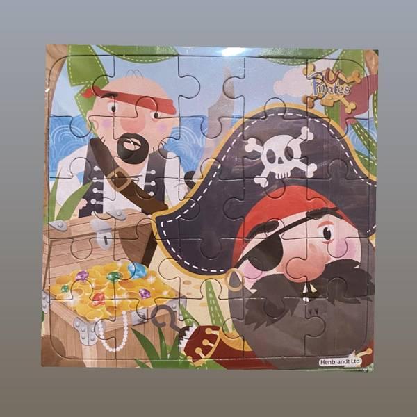 Bilde av Pirat, Puslespill ass