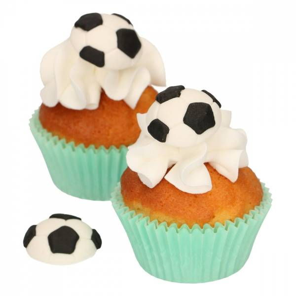 Bilde av Fotball Sukkerpasta Dekorasjon