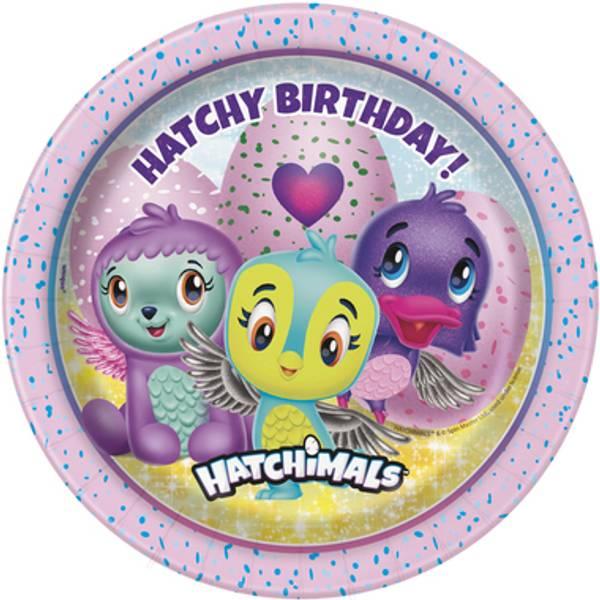 Bilde av Hatchimals asjetter, 8 stk