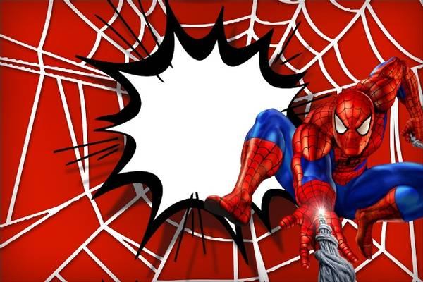 Bilde av Spiderman, Kakebilde, Sukkerpapir, A4