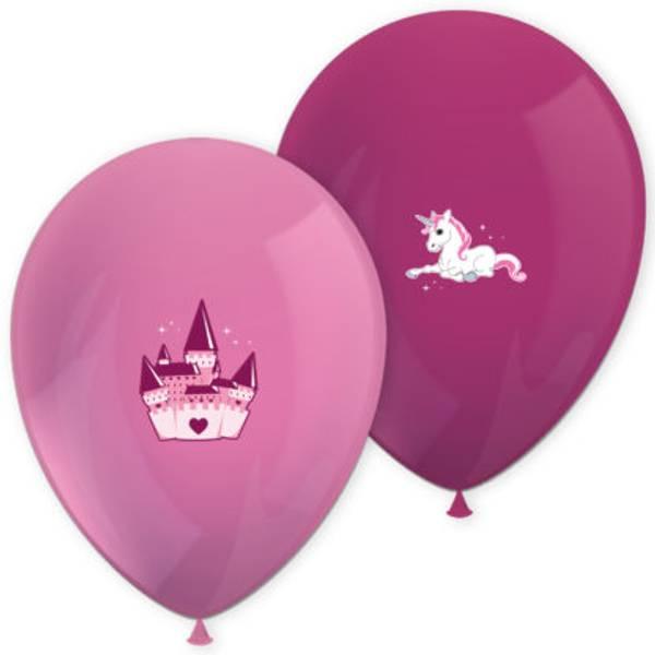 Bilde av Enhjørning; ballonger, 6 stk