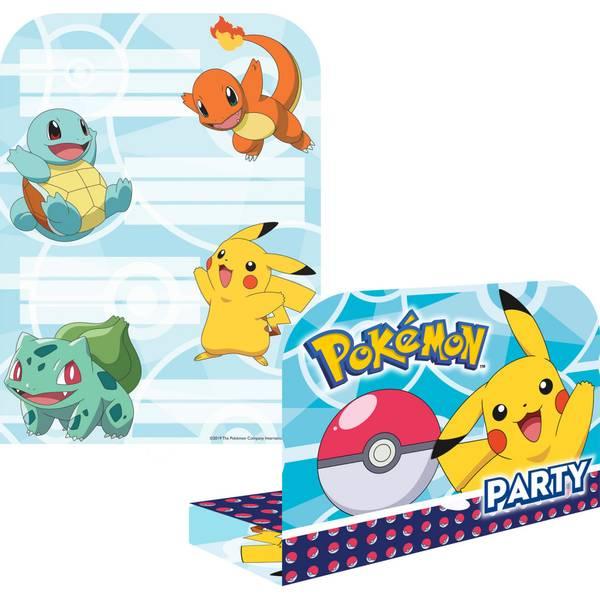Bilde av Pokemon Invitasjoner 2, 8 stk