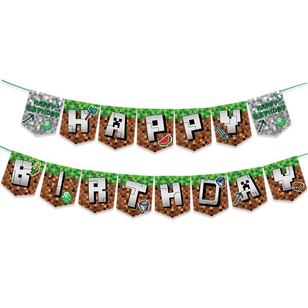 Bilde av Mining Pixel Banner