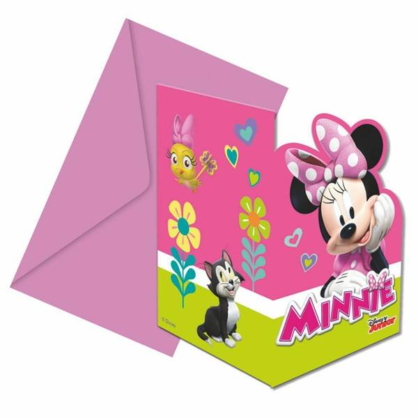 Bilde av Minnie invitasjoner 2