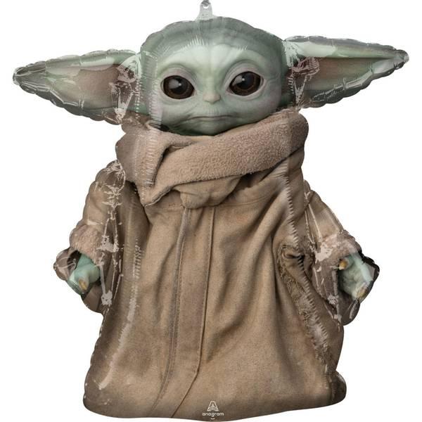 Bilde av Star Wars The Mandalorian, Baby Yoda/Grogu Folieballong, 66 cm