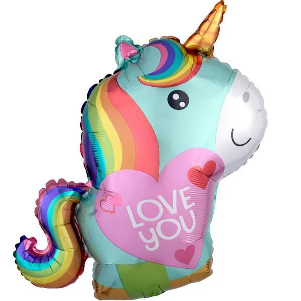 Bilde av Unicorn Love Folieballong, 53cm
