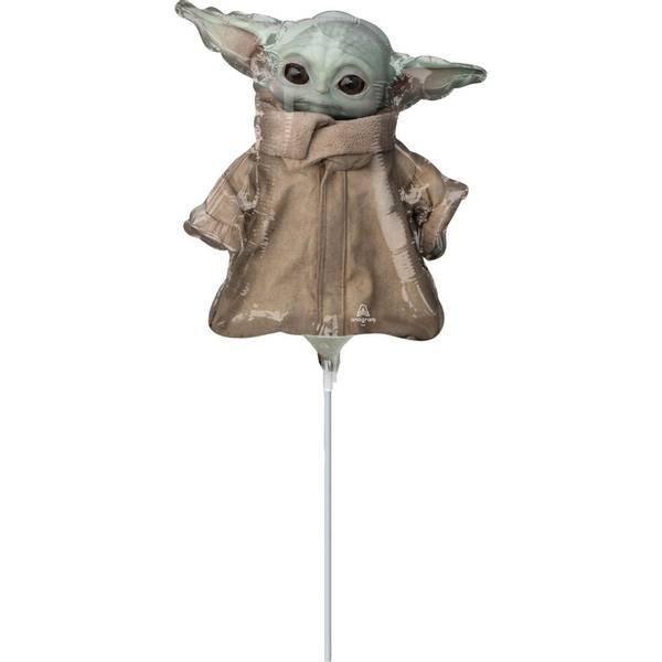 Bilde av Star Wars The Mandalorian, Baby Yoda/Grogu Mini Folieballong, 27