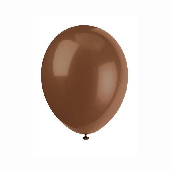 Bilde av Chocolate Brown Ballonger 50 stk