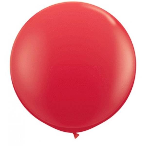 Bilde av Super Mega Rød Ballonger 3 stk