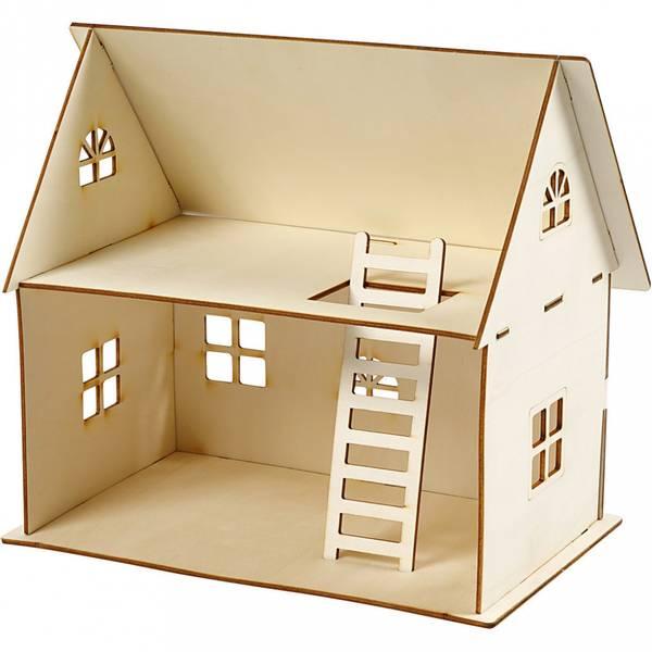 Bilde av Sett-sammen-selv dukkehus