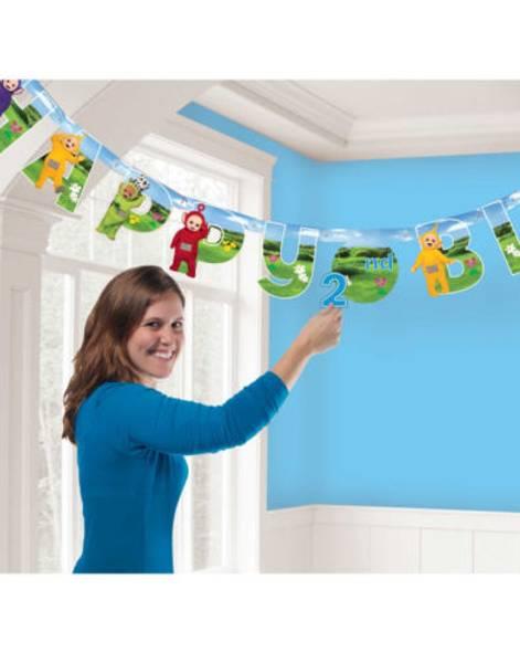 Bilde av Teletubbies Happy Birthday Banner