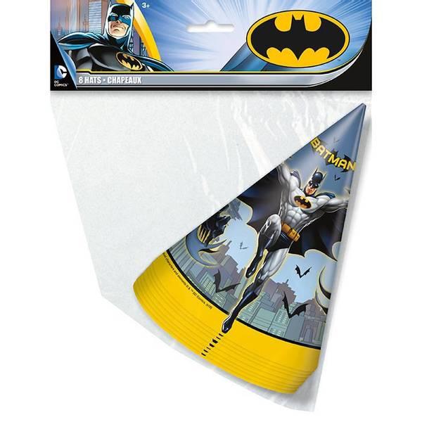 Bilde av Batman Partyhatter, 8 stk