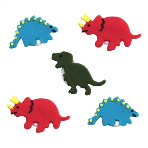 Bilde av Sukkerpynt, Dinosaur 5stk
