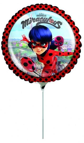 Bilde av Miraculous Ladybug Mini Folieballong