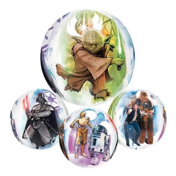 Bilde av Star Wars, Flersidig Folieballong