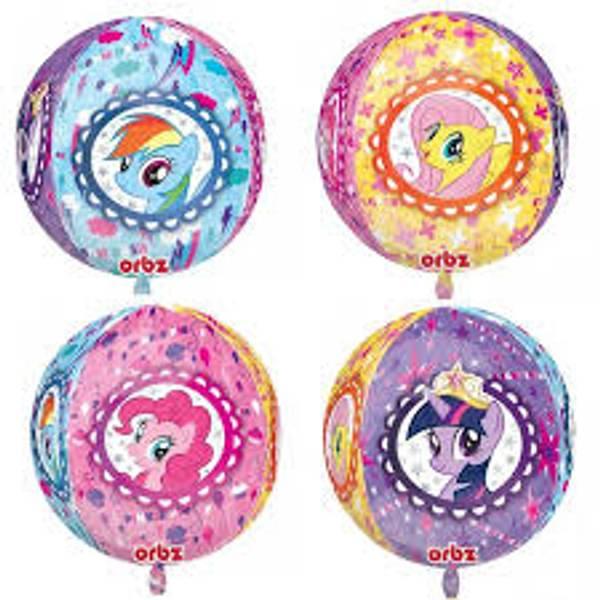 Bilde av My Little Pony Folieballong, Firedelt