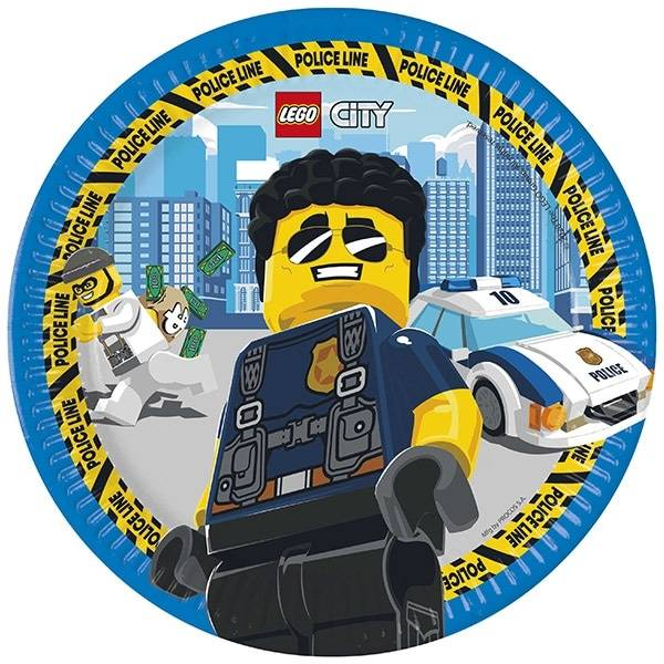 Bilde av LEGO City, Tallerker, 8 stk