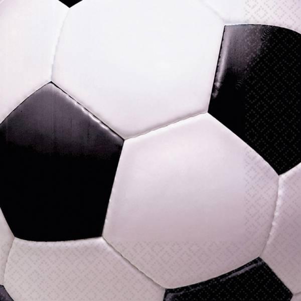Bilde av Fotball, Servietter, 16 stk
