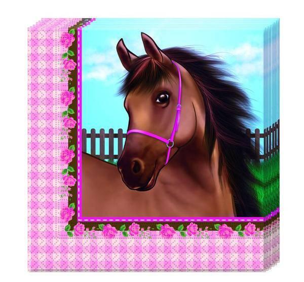 Bilde av Heste servietter, 20 stk
