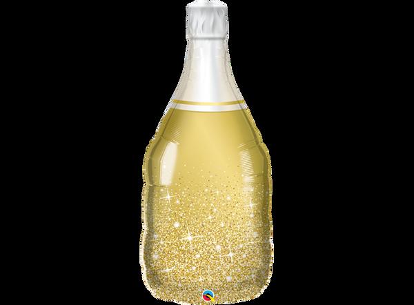 Bilde av Gull Champangeflaske folieballong