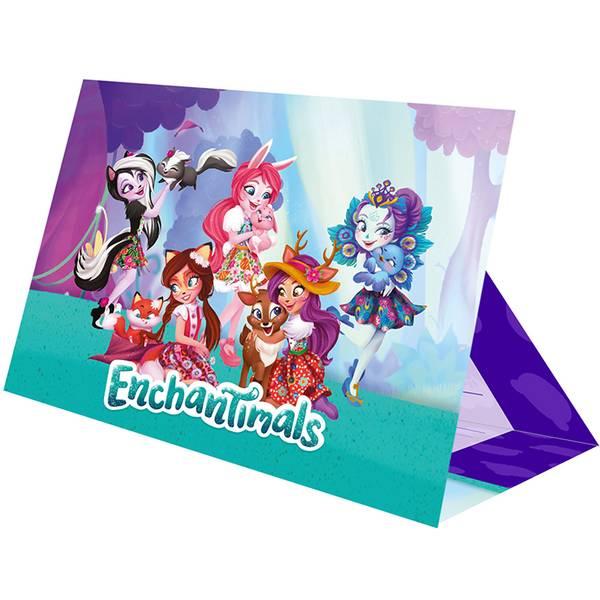 Bilde av Enchantimals, Invitasjoner, 8 stk