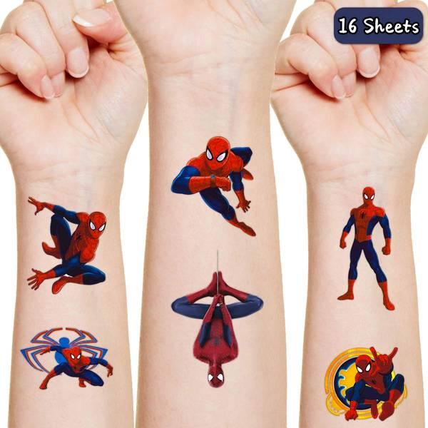 Bilde av Spiderman Tatoveringer