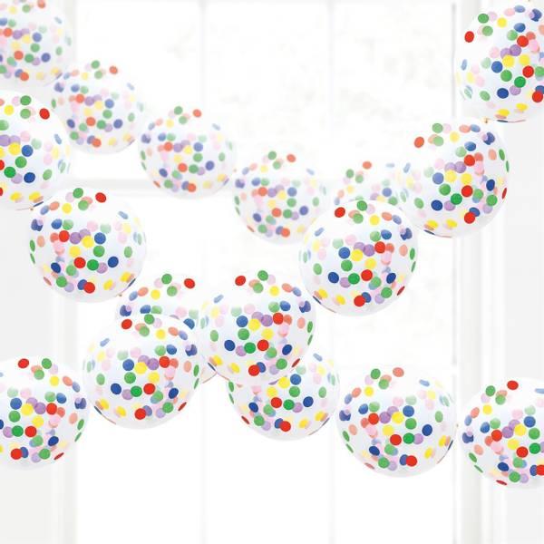 Bilde av Ballonggirlander med Konfetti, 3 M