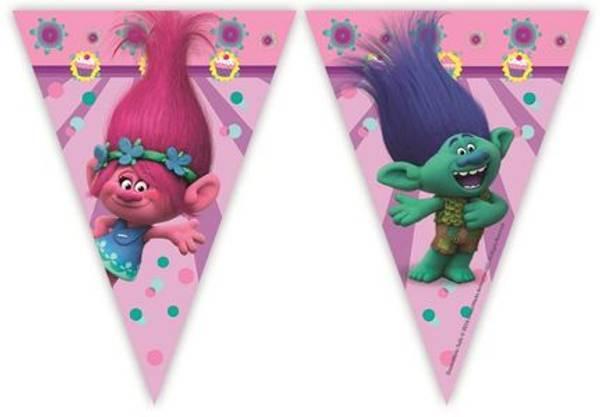 Bilde av Trolls Flagg banner, 230 cm