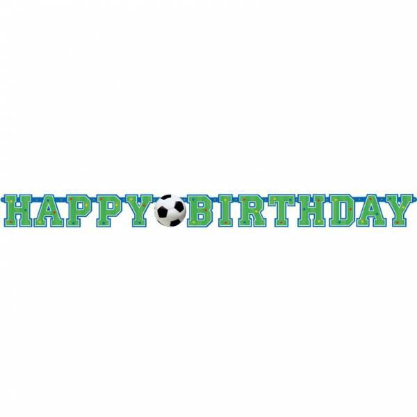 Bilde av Fotball, Happy Birthday, Banner