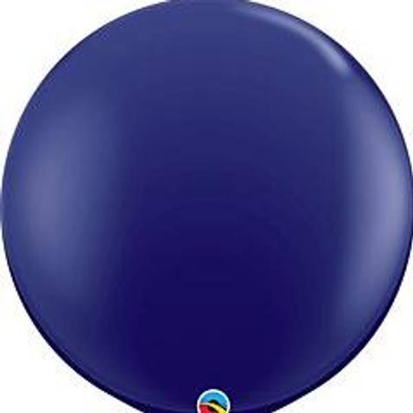 Bilde av Super Mega Mørk Blå Ballonger 3 stk