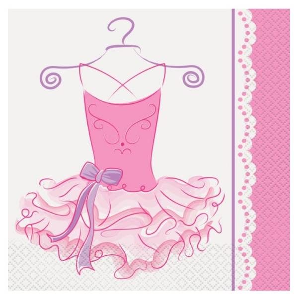 Bilde av Ballerina Servietter, 16 stk