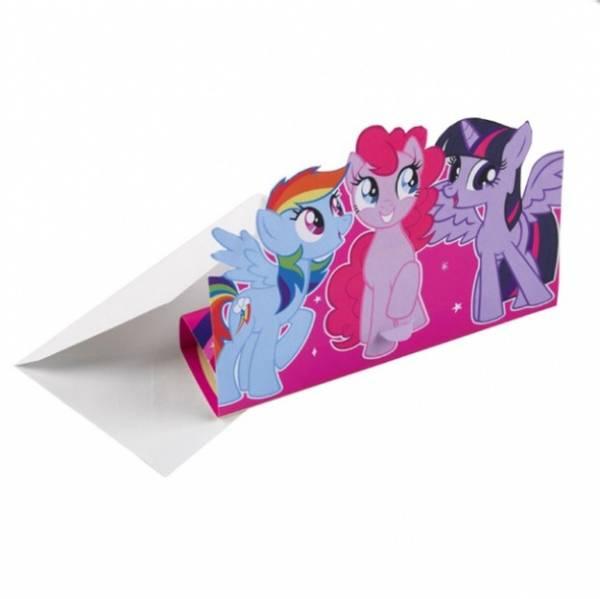 Bilde av My little Pony, Invitasjoner, 8 stk