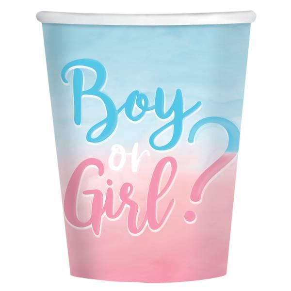 Bilde av Boy or Girl, kopper 8 stk