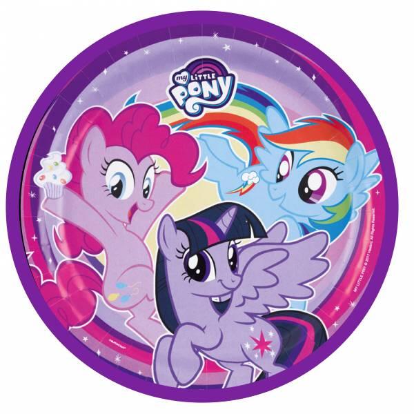Bilde av My Little Pony, Kakebilde 2, Sukkerpapir, 20 cm
